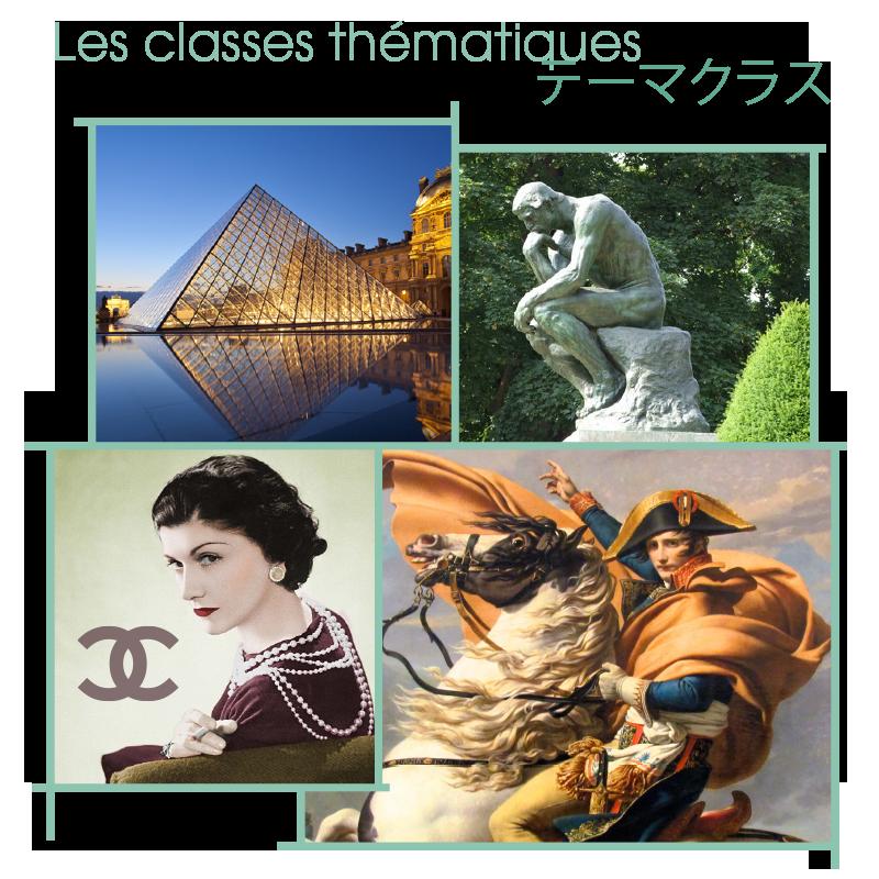 les classes thématiques
